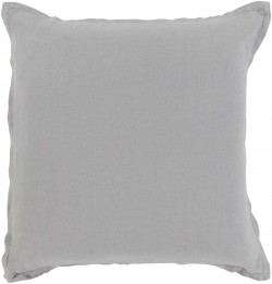 Orianna Pillow with Poly Fill in Gray | OR008-1818P
