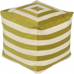 Playhouse Green Cube Pouf | PHPF004-181818