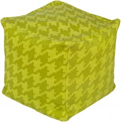 Playhouse Green Cube Pouf | PHPF005-181818