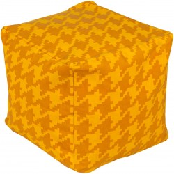 Playhouse Yellow Cube Pouf | PHPF007-181818