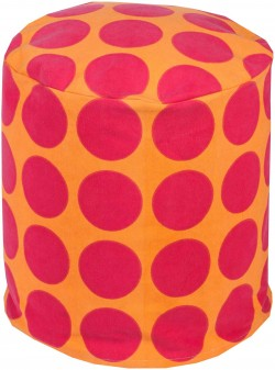 Playhouse Cylinder Pouf | PHPF014-181818