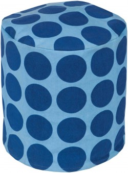 Playhouse Cylinder Pouf | PHPF016-181818