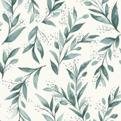 PSW1002RL Olive Branch Magnolia Home by Joanna Gaines Peel & Stick Wallpaper
