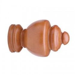 23-103-55 Walnut Regal Finial Select Drapery Hardware Finials