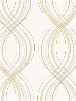 Retro Living Jeannie Wallpaper (RL60205)