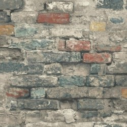RMK11080WP Brick Alley Peel & Stick Wallpaper