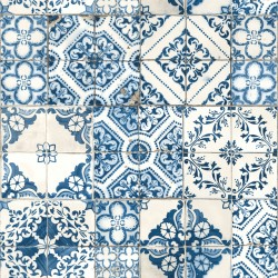 RMK11083WP Mediterranian Tile Peel & Stick Wallpaper