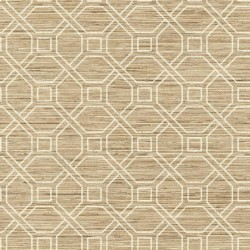RMK11191WP Coastal Trellis Peel & Stick Wallpaper