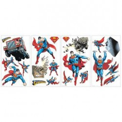 RMK1194SCS Superman Day of Doom Wall Decals Mural