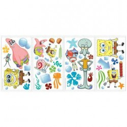 RMK1380SCS SpongeBob Wall Decals Mural