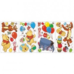 RMK1498SCS Pooh & Friends Wall Decals Mural
