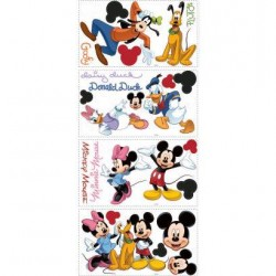 Murals Mickey & Friends Wall Decals Mural