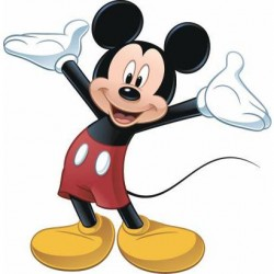 Murals Mickey Mouse Giant Wall Decal Mural