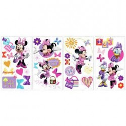 RMK1666SCS Minnie Mouse Bow-tique Wall Decals Mural