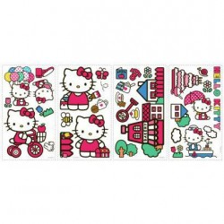 Murals World of Hello Kitty Wall Decals Mural