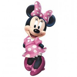 Murals Minnie Mouse Bow-tique Giant Wall Decal Mural