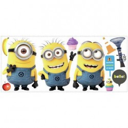 Murals Despicable Me Minions 2 Giant Wall Decals Mural
