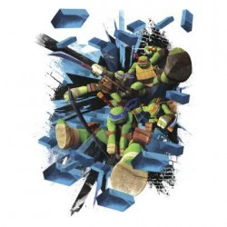 Murals TMNT Brick Poster Giant Wall Decal Mural
