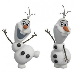 RMK2372SCS Frozen Olaf The Snow Man Wall Decal Mural