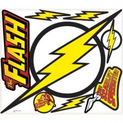 Murals Classic THE FLASH Logo Giant Wall Decal Mural