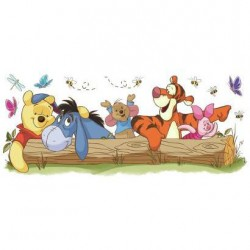 Murals Pooh & Friends Outdoor Fun Giant Wall Decal Mural