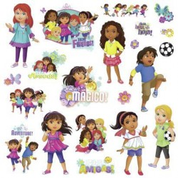 RMK2653SCS Dora and Friends Wall Decals Mural