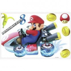 RMK3001GM Mario Kart 8 Giant Wall Decals Mural