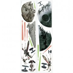 Murals Star Wars Classic Space Ships Wall Decals Mural