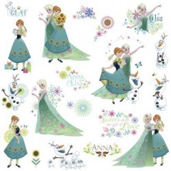 RMK3015SCS Disney Frozen Fever Wall Decals Mural
