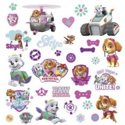 RMK3124SCS Paw Patrol Girl Pups Wall Decals Mural