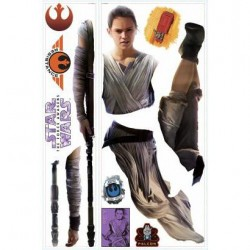 RMK3149GM Star Wars: The Force Awakens Rey Giant Wall Decal Mural