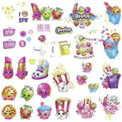RMK3154SCS Shopkins Wall Decals Mural
