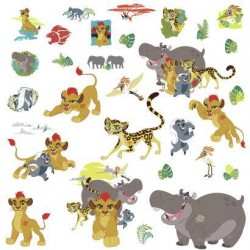 RMK3174SCS Disney The Lion Guard Wall Decals