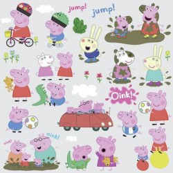 Murals Peppa Pig Wall Decals Mural
