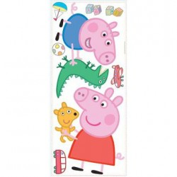 Murals Peppa and George Playtime Peel and Stick Giant Wall Decals Mural