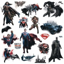 Murals Batman v Superman Peel and Stick Wall Decals Mural