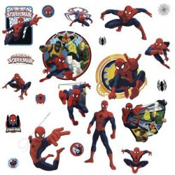 RMK3255SCS Marvel's Ultimate Spider-Man and Team Hero Wall Decals Mural