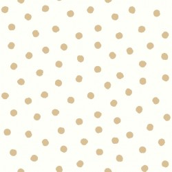RMK3524WP Gold Dot Peel & Stick Wallpaper