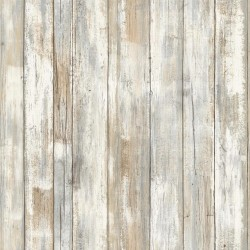 RMK9050WP Distressed Wood Peel and Stick Wallpaper