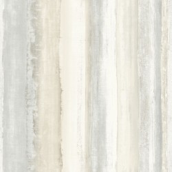 RMK9062WP Watercolor Stripe Tan Peel & Stick Wallpaper