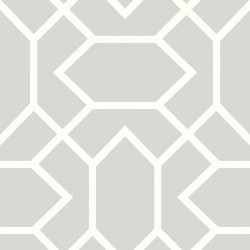 RMK9065WP Modern Geometric Lt Grey Peel & Stick Wallpaper