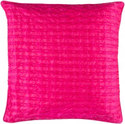 Rutledge Pillow with Poly Fill in Hot Pink   RT004-1818P