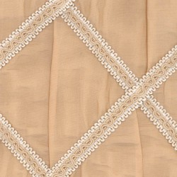 S121 Tan Kasmir Fabric