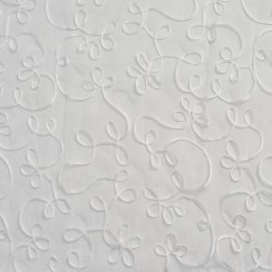 SH62 White Fabric by Charlotte Fabrics