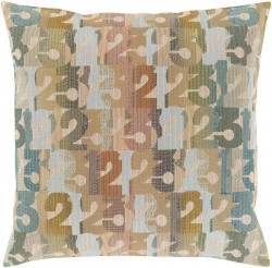 Follow the Numbers Multi-Color Pillow   SHP002-1319P
