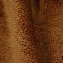 Siamese 1788 Deep Red Cheetah Print Fabric
