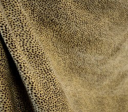 Siamese Nugget Reversible Chenille Animal Print Upholstery Fabric