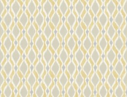 SP1427 Yellow Dyed Ogee Wallpaper
