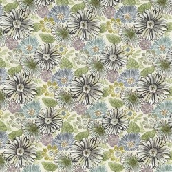 Spring Bloom Pebble Beach Kasmir Fabric