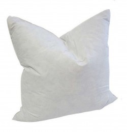 22 x 22 Square Goose Feather Pillow Form Insert